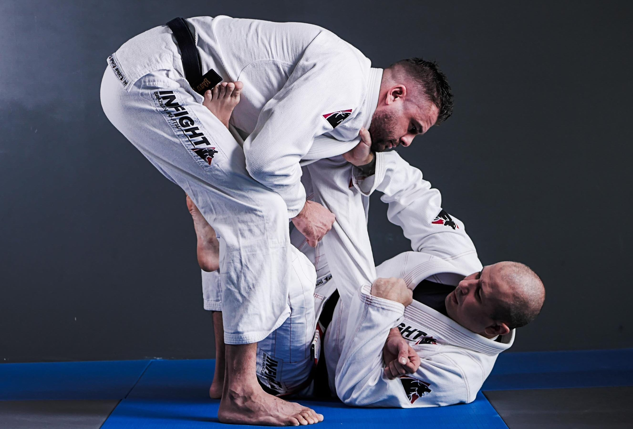 Eduardo Cadena and Ryan Christopher - BVJJ Instructors
