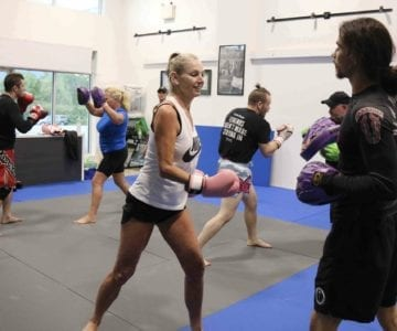 Pads and Bags - BVJJ Kickboxing