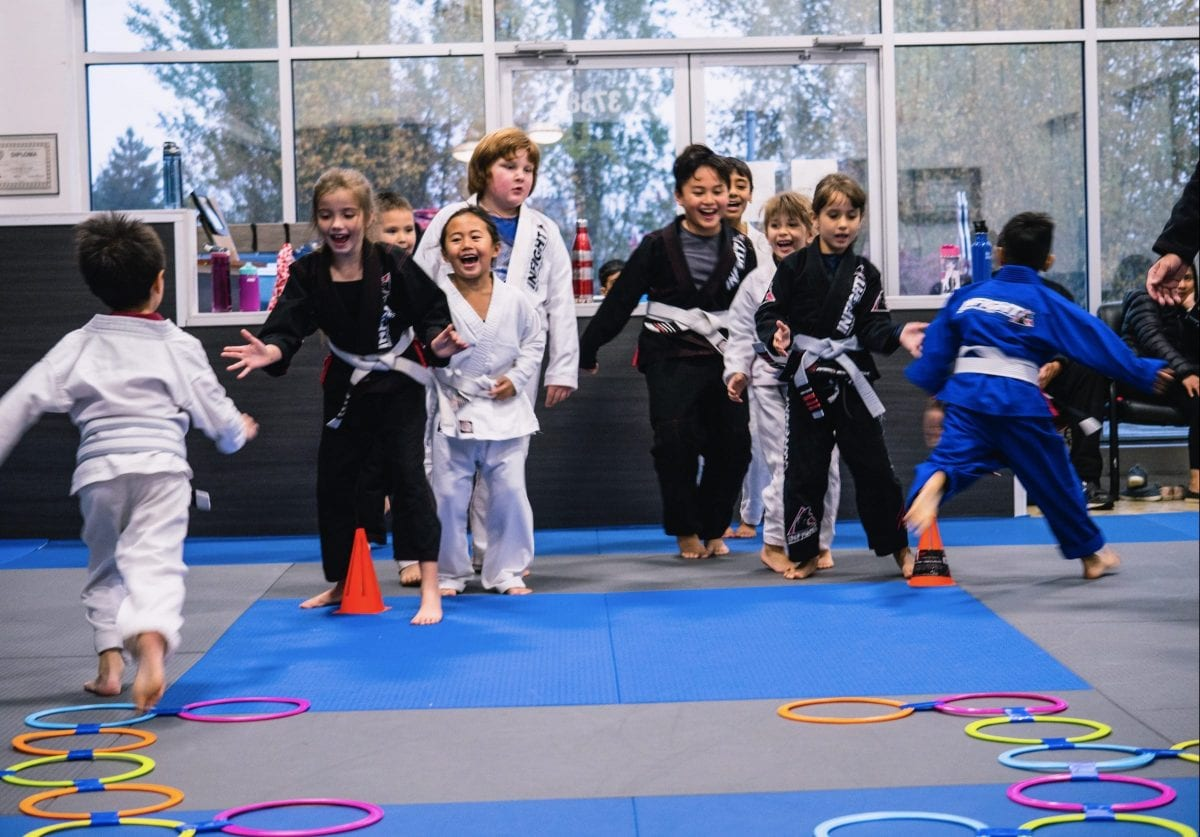 Kids 3-9y - BVJJ Panthers II BJJ